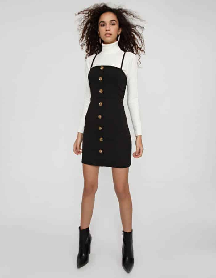Φόρεμα σκούμπα με κουμπιά 3