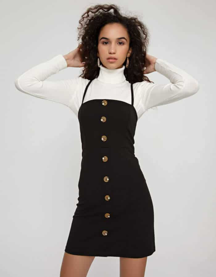 Φόρεμα σκούμπα με κουμπιά 1