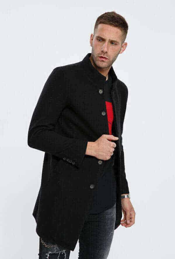 Παλτό μακρύ – Makenzy e-store f371dd04753