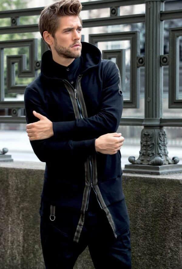 Παλτό μακρύ STEFAN μαύρο €149.90. Click to enlargeClick to enlarge.  Previous 436d3418779