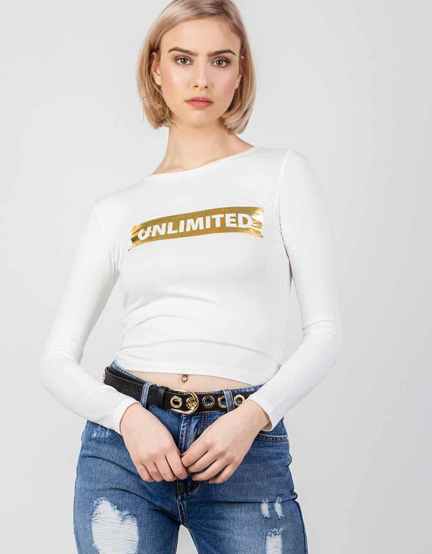 """Μπλούζα """"UNLIMITED"""" 1"""