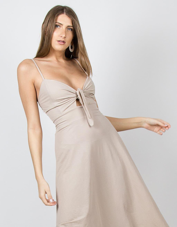 Φόρεμα λινό 2