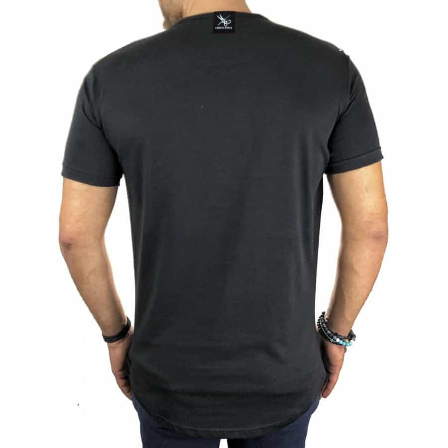 T-shirt half γκρι 2
