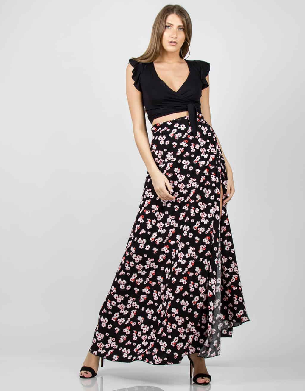 Φούστα floral 3