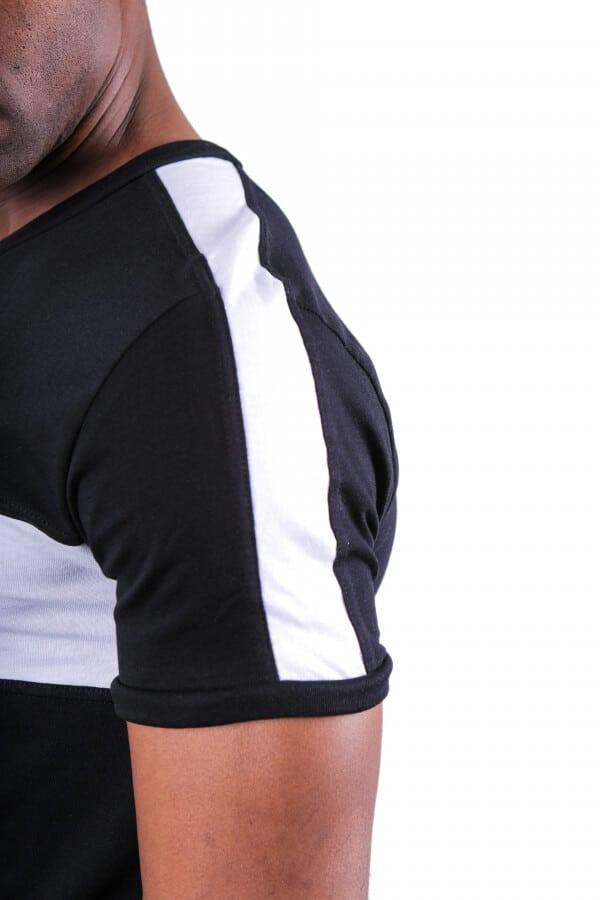 T-shirt δίχρωμο 2