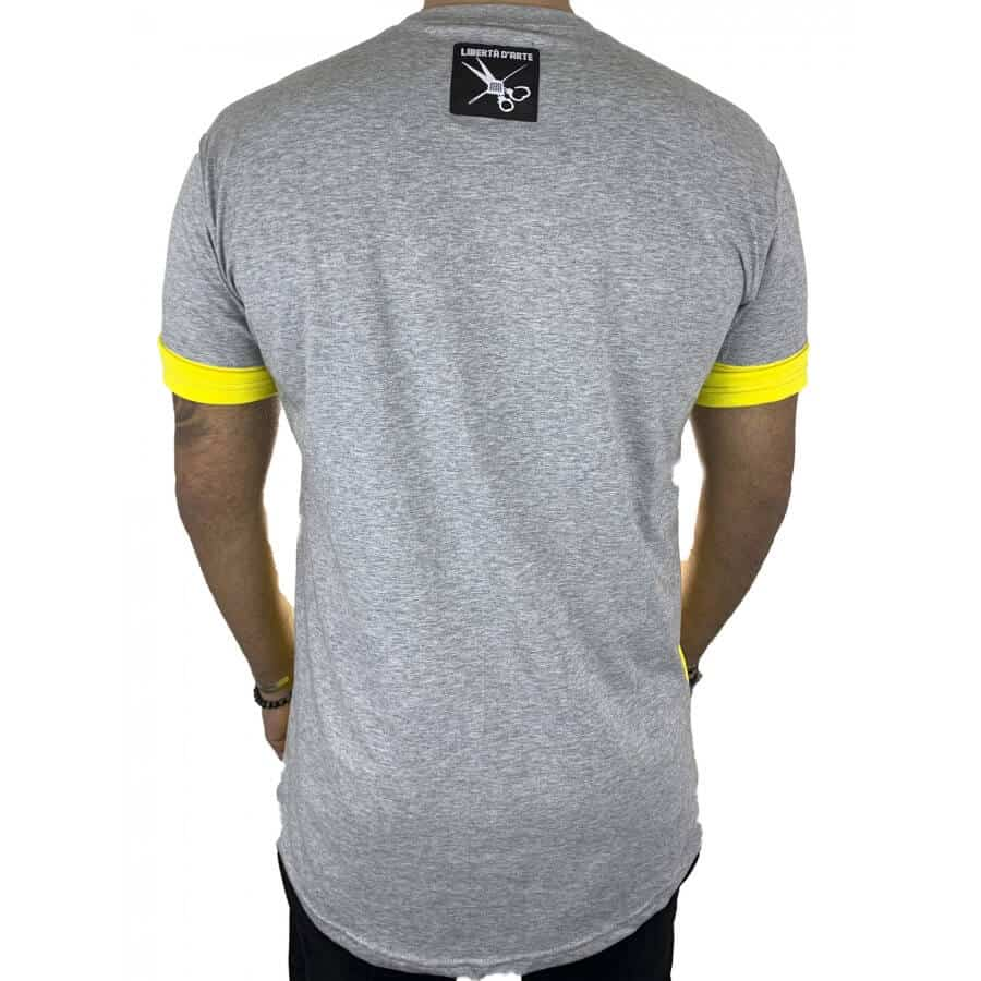 T-shirt half κίτρινο 2