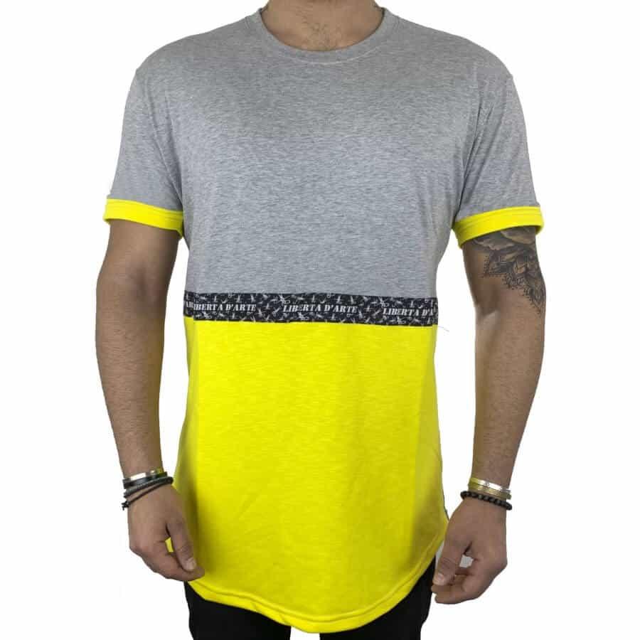 T-shirt half κίτρινο 1