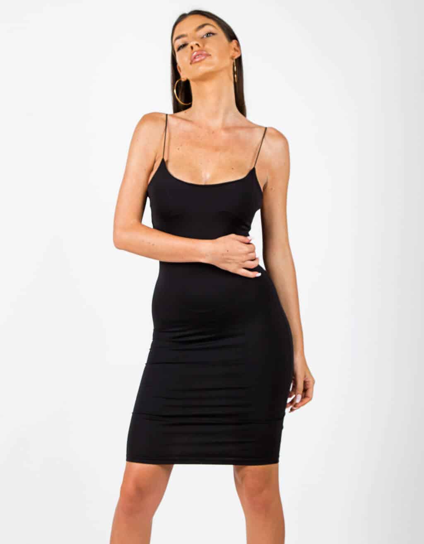 Φόρεμα με λεπτή τιράντα 1