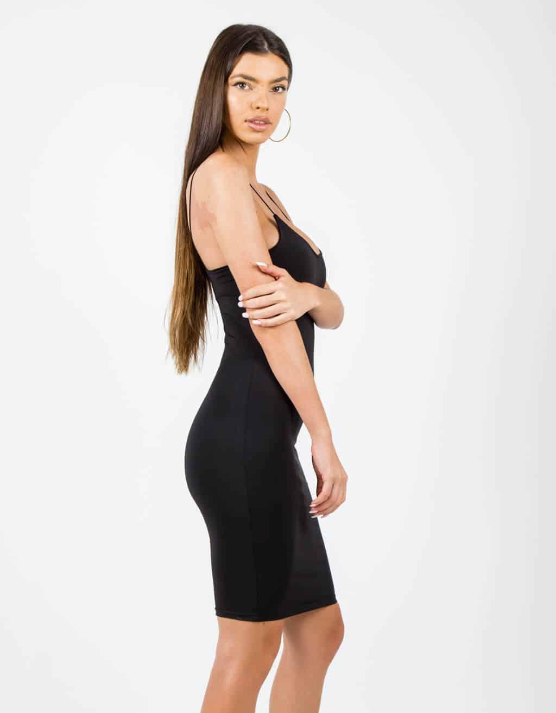 Φόρεμα με λεπτή τιράντα 2