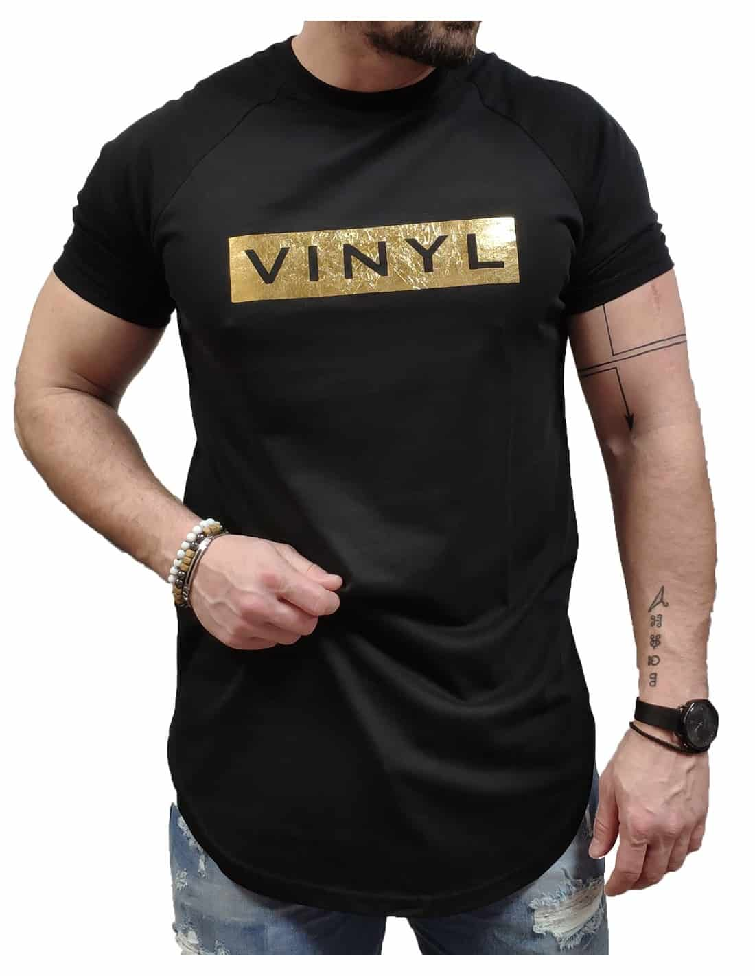 VINYL ART CLOTHING T-SHIRT ΜΕ LOGO ΜΑΥΡΟ 1