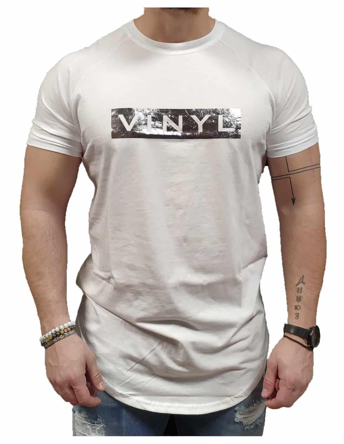 VINYL ART CLOTHING T-SHIRT ΜΕ LOGO ΛΕΥΚΟ 1